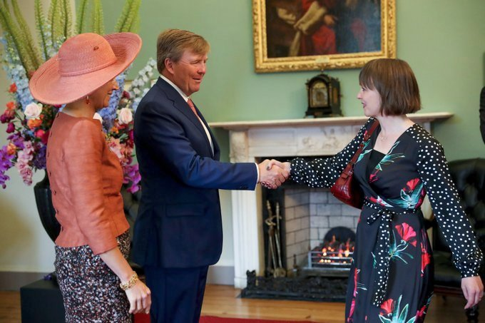 test Twitter Media - We are very proud of our scholar @Naoicea who was invited to meet with the King and Queen of the Netherlands last week. Dr Stam took part in a discussion on academic research in Ireland. #DIASdiscovers https://t.co/JEgCSPUblK