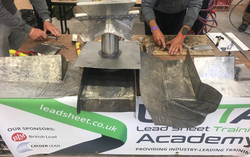MISSED OUR RECENT LEAD WELDING/ BOSSING Training Course? LSTA HQ Peckham 2 far, 2 expensive? No problem - there's another being run specially 4 us by the @LSTATraining 7-11 October; heavily subsidised by @CITB_UK; not 2 early 2 reserve your place #proudtopromoteroofing #leadsheet pic.twitter.com/Cghf1EQfRu