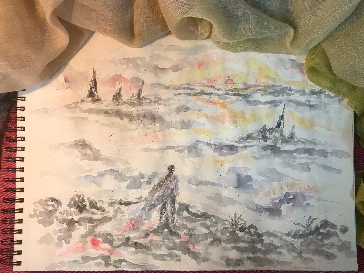 [黎明] 「是人就有貪欲,而權力是所有慾望之最」— 摘自《扶搖》天下歸元   📃📃📃 #扶搖 #扶搖皇后 #天下歸元 #楊冪 #阮經天 #電視劇 #電視劇插畫 #插畫語錄 #小說語錄 #黑白 #插畫 #語錄 #花草 #故事 #圖文 #illustration #art #artwork #sketch #story #life #watercolor #legendoffuyao #fuyao