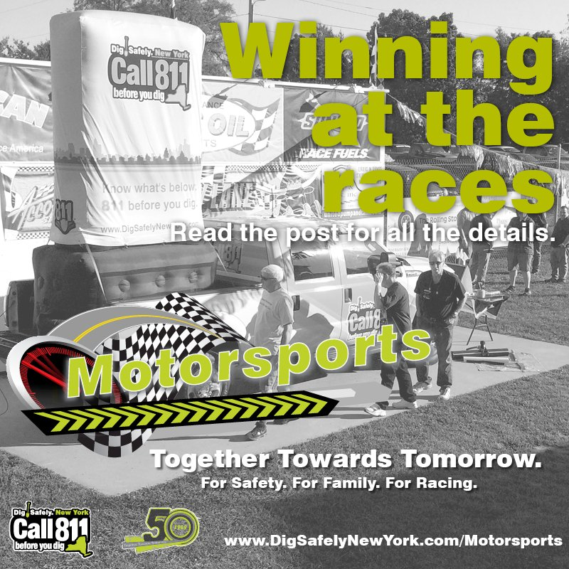 Drivers aren't the only ones who have a chance to win at the races. Stop by the @DSNY_Motorsport…
