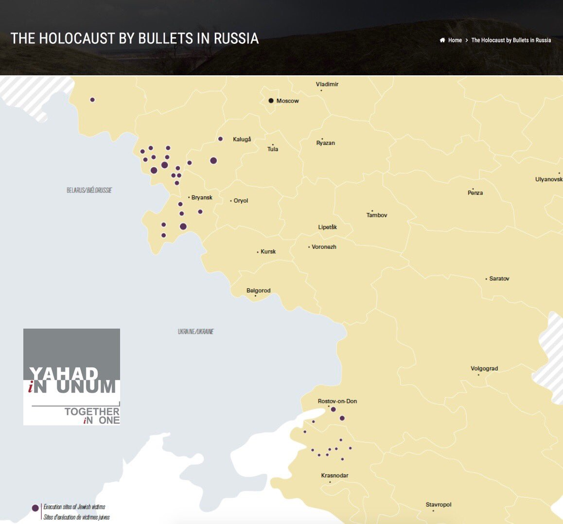 Yahad-In Unum research teams have conducted 24 research trips to Russia, 879 witnesses have been interviewed in the country and 316 execution sites have been identified.  https://www.yahadinunum.org/the-holocaust-by-bullets-in-russia/…  #shoah #InEvidence #witness