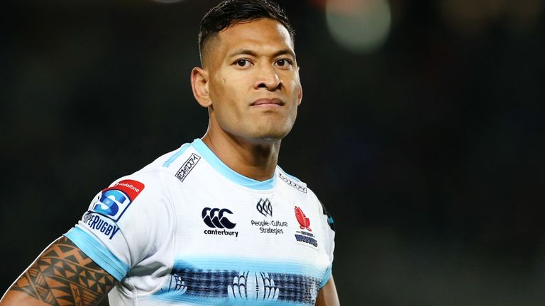 test Twitter Media - Folau in anti-LGBT slurs at Sydney church   Former Australian 🇦🇺 rugby player Israel Folau has made fresh homophobic slurs at a church congregation in Sydney.  👉 More here: https://t.co/8FpMLTSA2C https://t.co/sbMoBPNkQ4