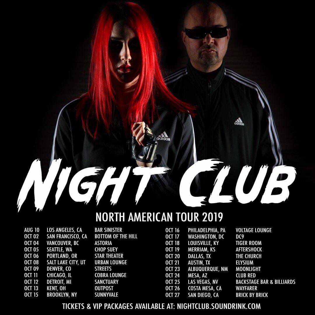 2d7f8260fe1 NIGHT CLUB (@nightclubband) | Twitter