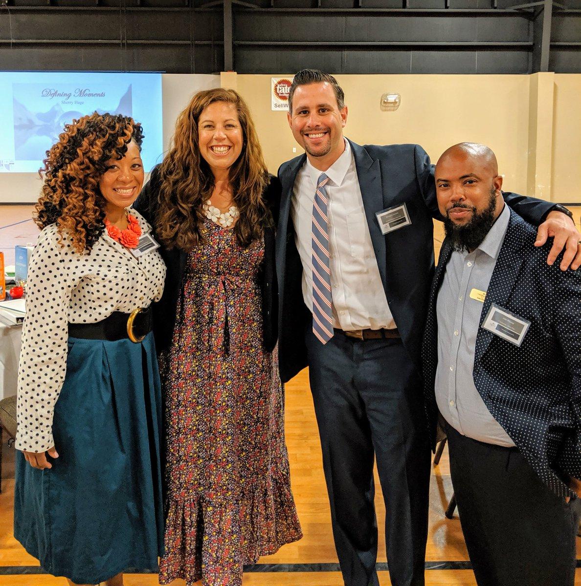 Kicking off Principal's Institute with the best team in North Carolina!  #edleaders #studentsfirst @CSUSAJonHage @NobleEduInit @cnusinov @MrLeibowize @AliBSimpson<br>http://pic.twitter.com/sZXgwMYFdY