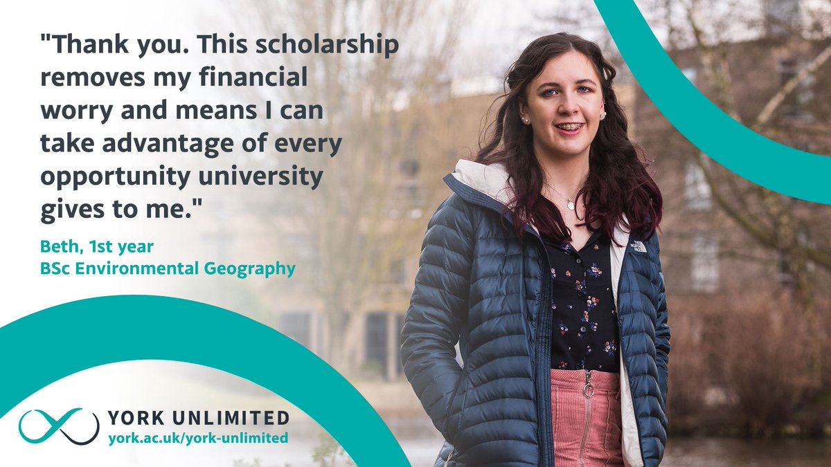 York Unlimited: The Campaign for the @UniOfYork. Enabling every student to shine. Find out more: http://york.ac.uk/york-unlimited #YouAreTheKey #YorkUnlimited
