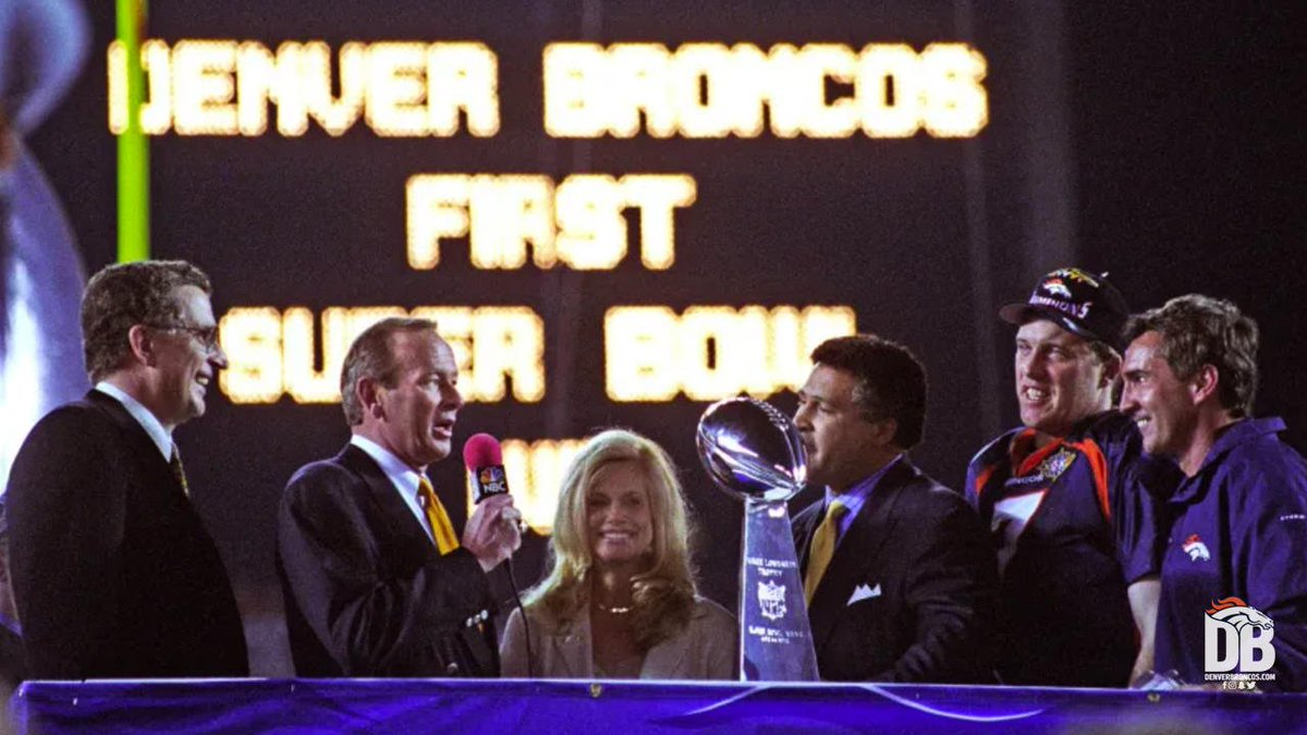 """There's nothing more iconic than """"This one's for John.""""  @NFLThrowback's Top 5 moments under Pat Bowlen's tenure:"""