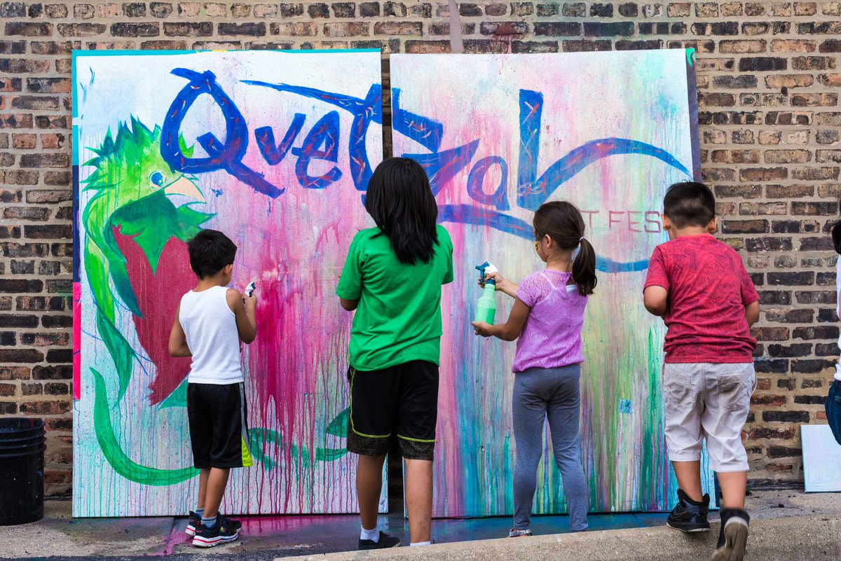 We are less than a week away from #QFest19 and we couldn't be more excited!! Join us for live art, food, music and more! RSVP and find more info on who's joining us here:  http:// bit.ly/2Jwtjdu      #artfest #Grassroots #ChiSoundsLike <br>http://pic.twitter.com/tujMB063I6