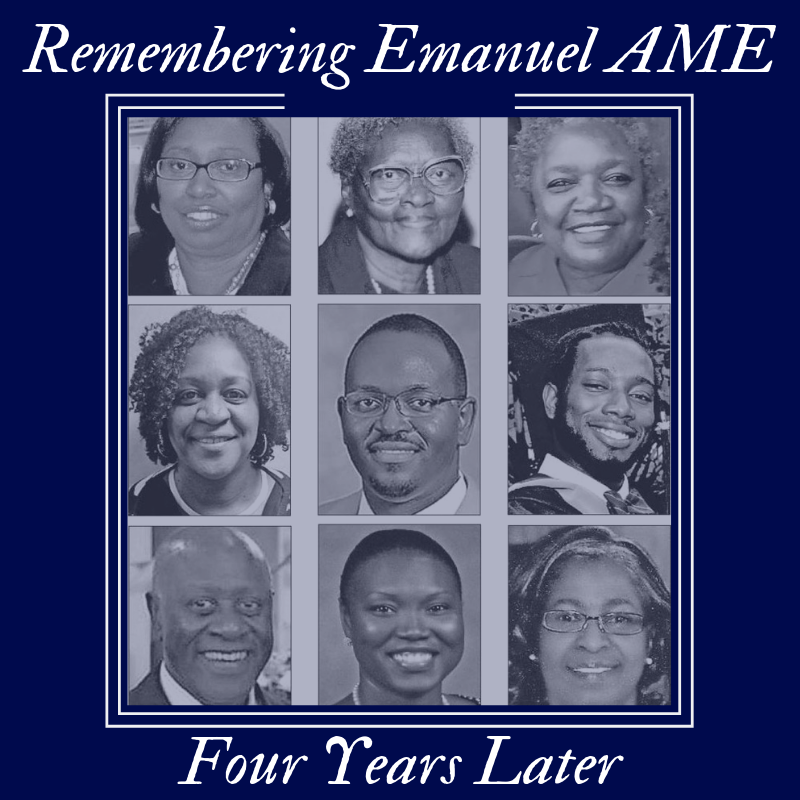 Let us never forget the faces and lives of those lost in the act of hate perpetrated at Emanuel AME 4 years ago today. Our places of worship must be safeguarded. Our nation must be safeguarded. We need #gunsafety reform and an all-hands-on-deck effort to fight hate and racism.
