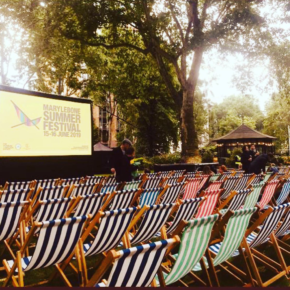 We are back from working on another fantastic weekend at #MaryleboneSummerFestival - See you again next year! #EOL #EventProfs #eventproduction #festival #fayre #Marylebone #London https://t.co/4scviSSZrg