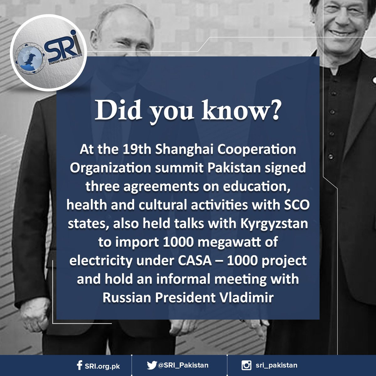 Did you know?#SCOSummit #Pakistan #Russia