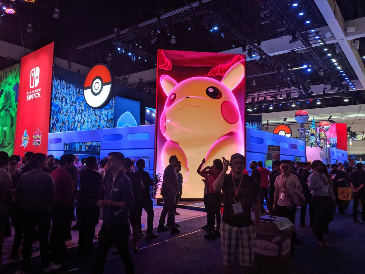 RT @IGN: Nintendo had an incredible booth at E3 2019. Check it out here: https://t.co/774jYaVBfg https://t.co/ZzKODj68pX