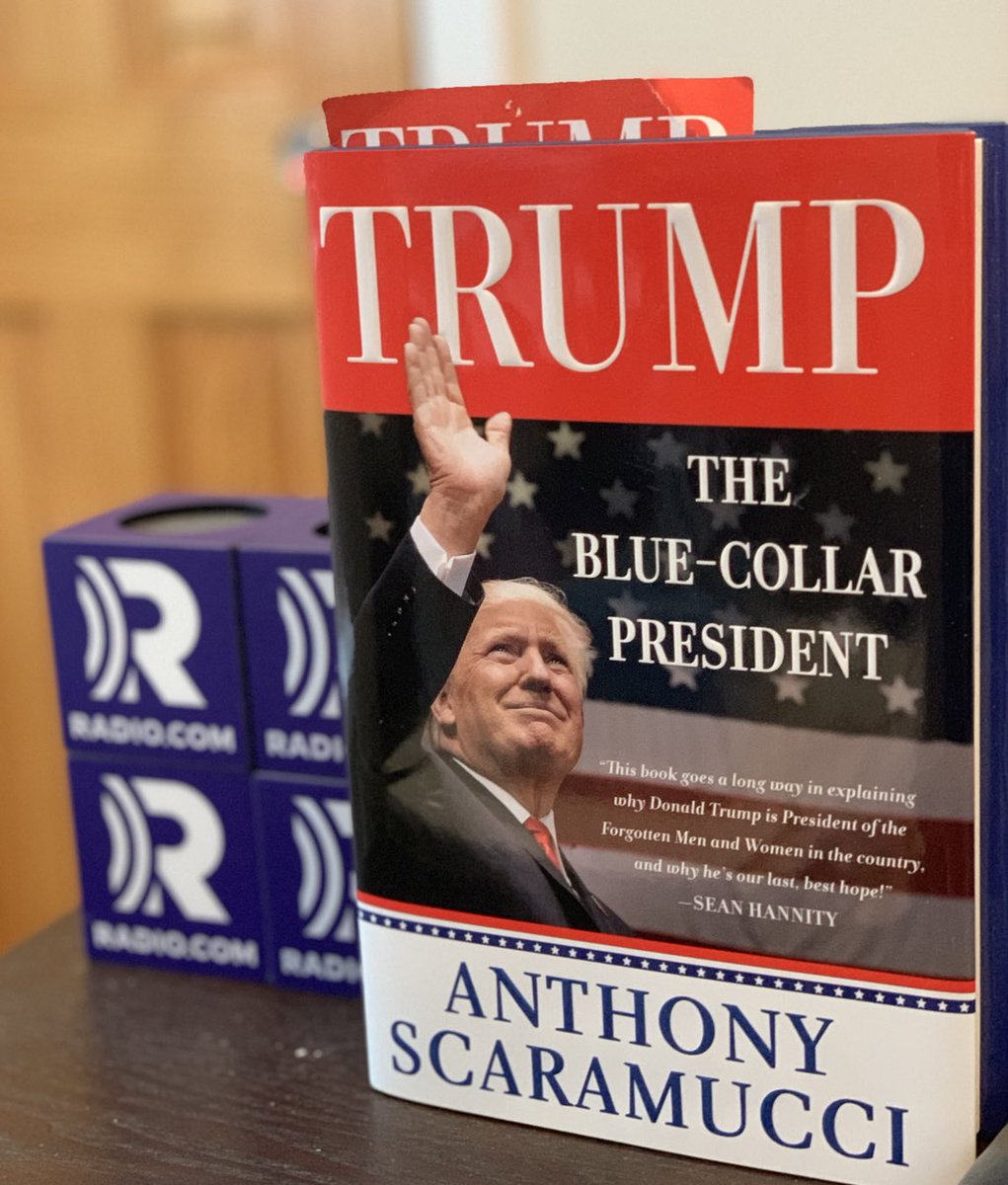 "With @POTUS @realDonaldTrump launching his 2020 campaign in Orlando tomorrow, I am reminded of the connections Mr. Trump made with voters on the campaign trail, eloquently detailed in @Scaramucci's latest book ""The Blue-Collar President."" Great read. @moochandthemrs @Radiodotcom<br>http://pic.twitter.com/9phVxnpp0B"
