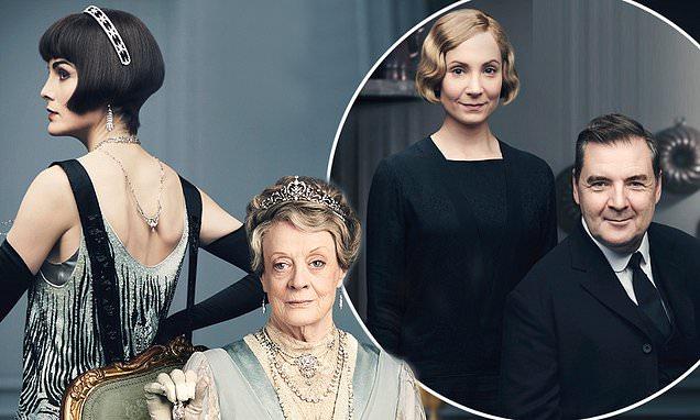 Downton Abbey's Michelle Dockery, Maggie Smith and Joanne Froggatt appear in new movie posters https://t.co/PKLe5QbJ66 https://t.co/UOlCyZpr99