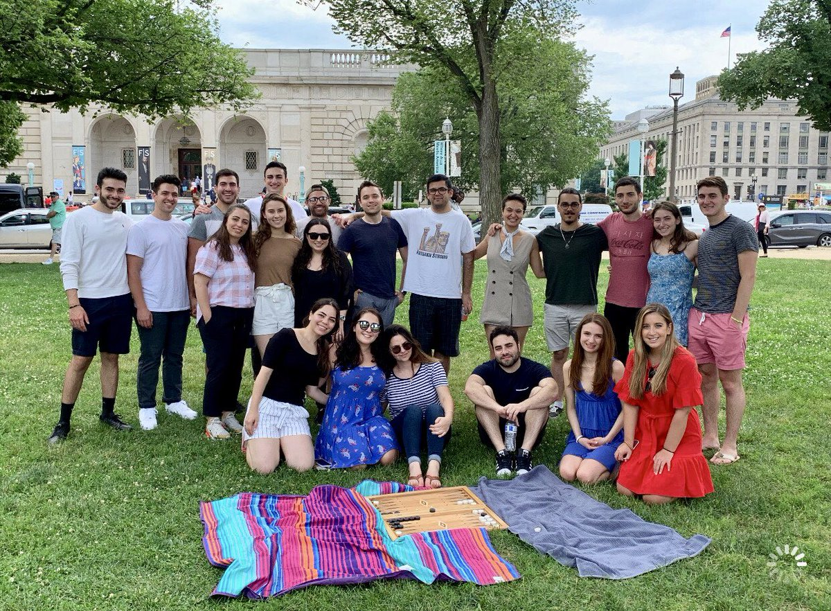 A BIG thank you to the Congressional Armenian Staffers Association (CASA) for hosting yesterday's picnic on the National Mall. We couldn't ask for a better day to be outdoors, enjoy D.C. monuments, and visit some Smithsonian Museums!