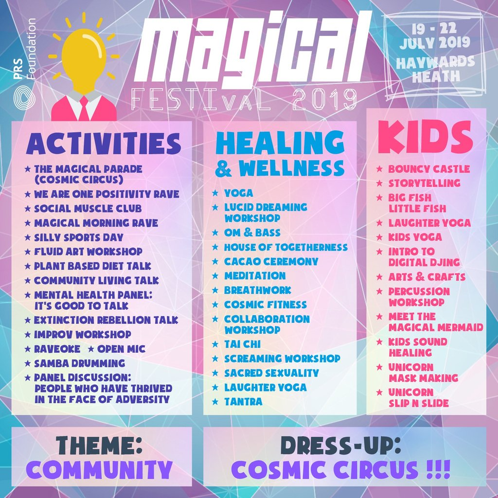 Magical Festival (@festivalmagical) | Twitter