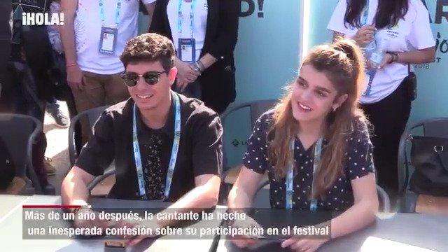 La sorprendente confesión de Amaia: 'Preferiría no haber ido a Eurovisión' https://t.co/dFiKZMw7cJ https://t.co/2UOip0vxKn