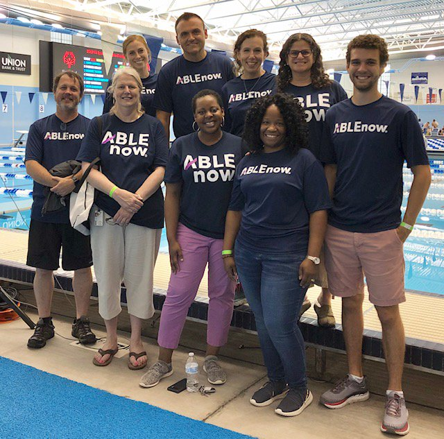 One of our favorite annual events is the @SOlympicsVA Summer Games. We love volunteering, sharing ABLEnow information, and celebrating the accomplishments of all the athletes. #InclusionRevolution #ChooseToInclude #SpecialOlympics