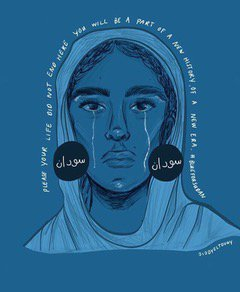The recent massacre of peaceful protestors is Sudan is a significant attack for hopes of a civilian government. #BlueForSudan https://t.co/CPAKS16S1m