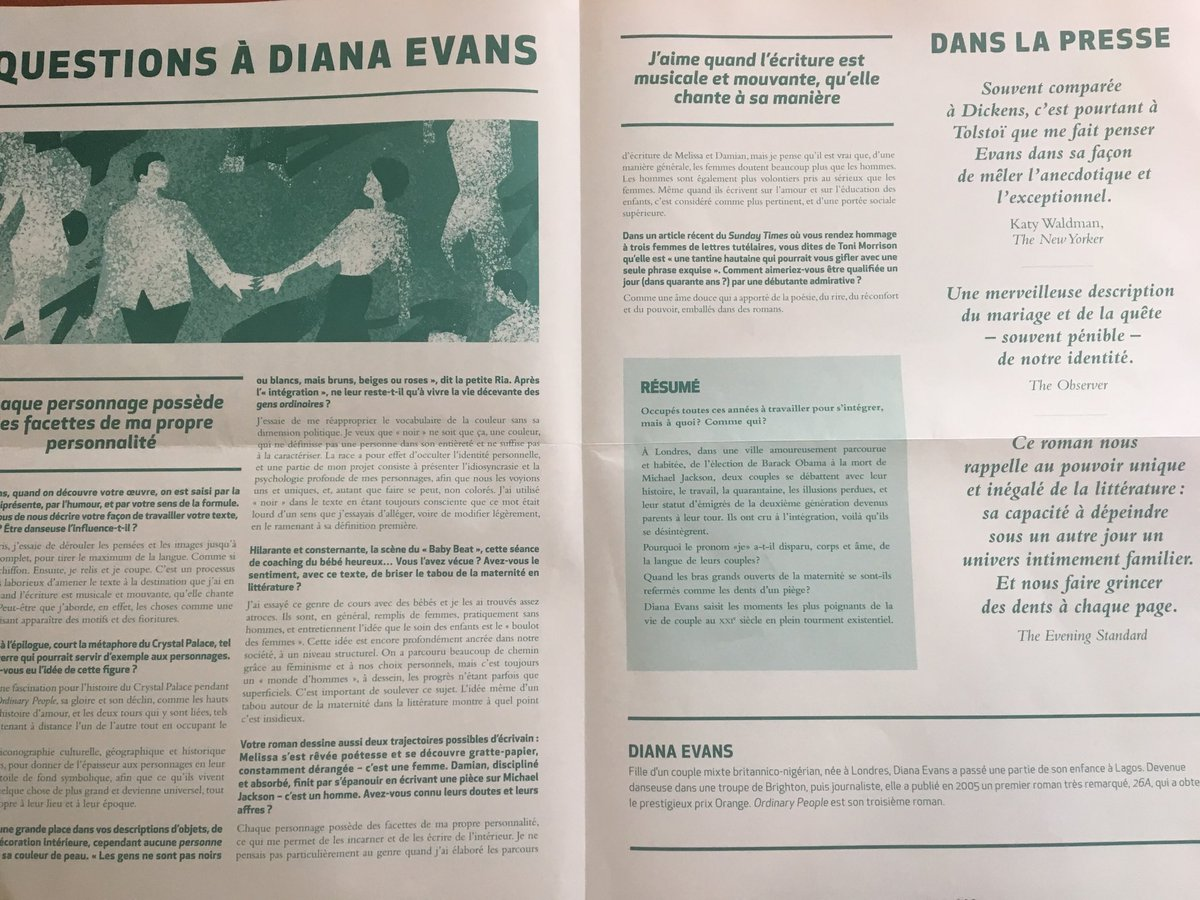 Diana Evans On Twitter Today In Paris Ive Given A Talk