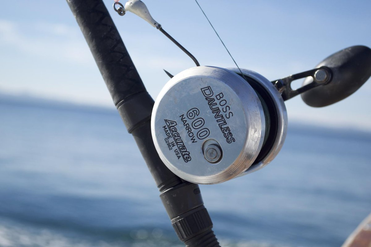 Small Reels. Big Fish. The Dauntless was made for anglers looking to pull out all stops as they take on the largest and strongest gamefish of the world. #FishHard https://t.co/dRmtU0zr77