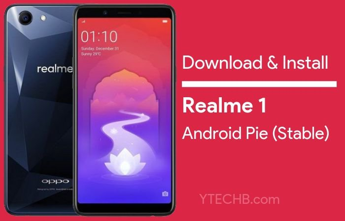 The Realme 1 Stable Android Pie 9 0 ColorOS 6 Update is Here