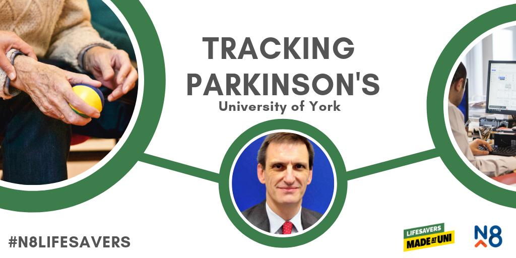 Did you know that @UniOfYork are developing devices to track the progression of Parkinson's? #N8Lifesavers #MadeAtUni   Read more on their research project here: https://www.n8research.org.uk/n8-lifesavers-university-of-york-track-progression-of-parkinsons/…