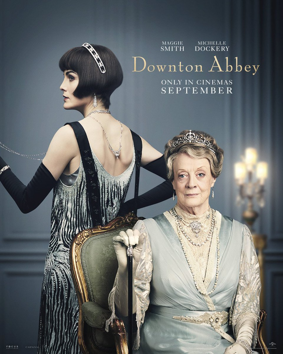 Been trying not to be interested in the Downton Abbey movie. Quit watching partway into Season 4 and thought I'd successfully given it up. But then the trailer showed before a movie this weekend and made me realize I'm gonna have to finish this trip. https://t.co/5EneeONTEp