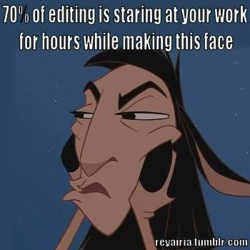 100% True   #amwriting  #AmEditing<br>http://pic.twitter.com/0ljpzZd29r