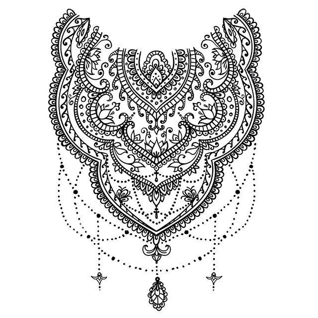 Tattoo project  #sunvibrationstattoo2 #tatuaggiroma  #tattooroma  #tatuaggio #pontemilvio #style #sketch #ricamo #pizzo #ornamento #ornamentale #merletto #mehndi #indi #indiano #hennè  #ghirigoro #disegno #decorativo http://bit.ly/2ITE99Q