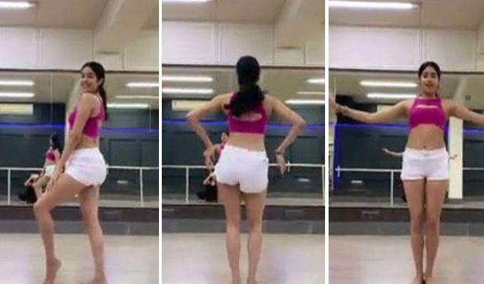 Viral Video: Janhvi Kapoor Shows off Her Belly Dance Moves on Song 'Zingaat' For Dance Deewane Challenge #JanhviKapoor https://www.imagesgirls.com/2019/06/viral-video-janhvi-kapoor-shows-off-her-belly-dance-moves-on-song-zingaat-for-dance-deewane-challenge/…
