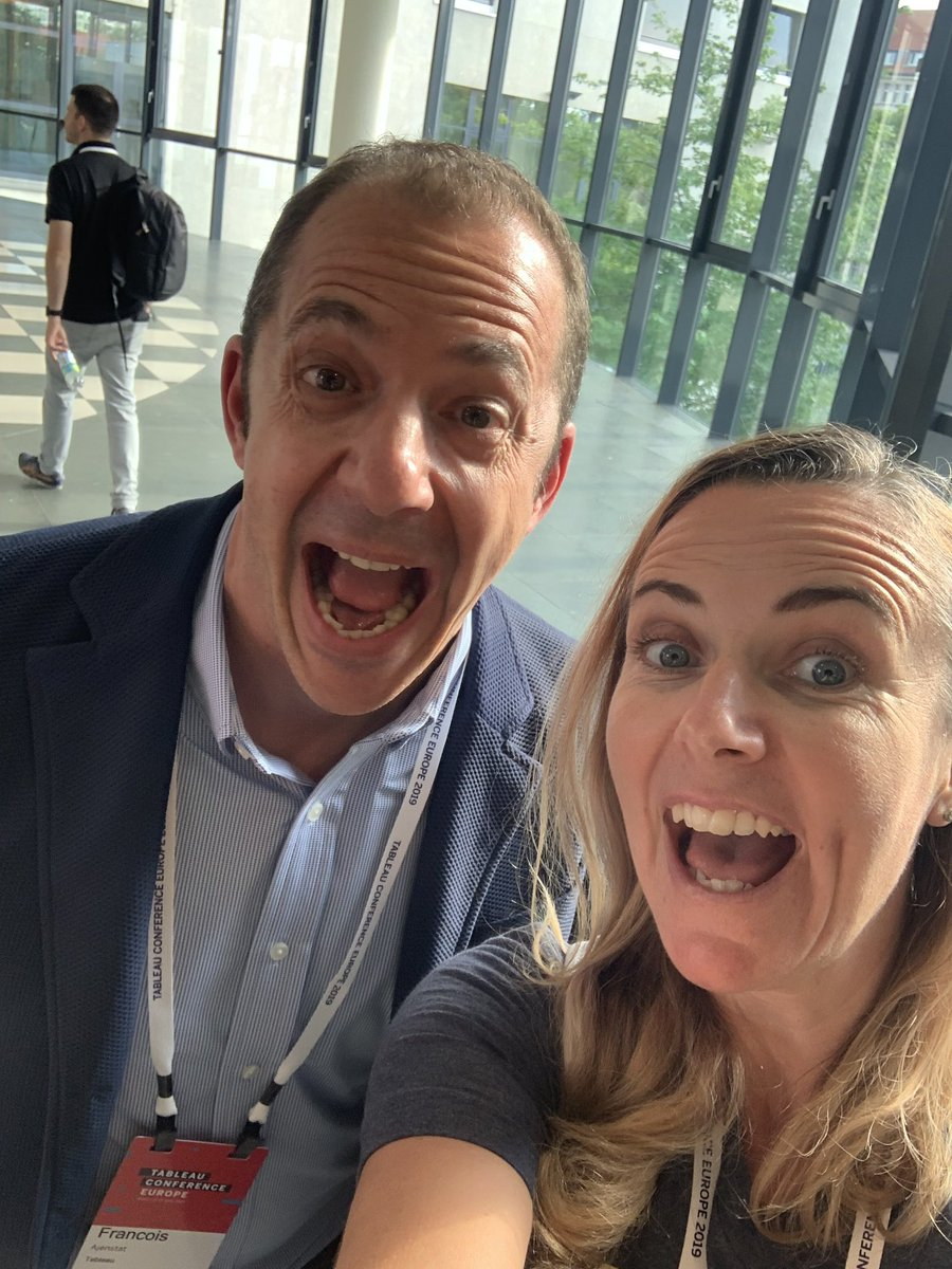 Pulling faces at #tableau #data19 with @Ajenstat https://t.co/Vt1f1jRdHW