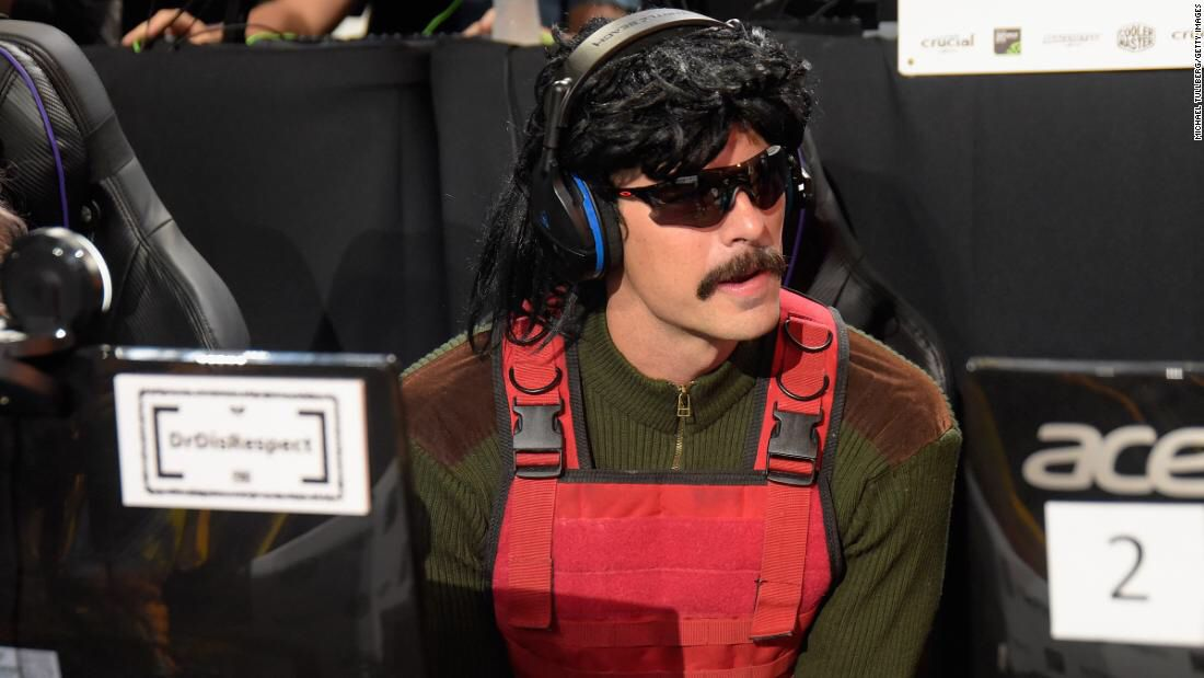 #E32019: Dr Disrespect Twitch account suspended https://t.co/OfcMFyNdzw via @CNN #gaming #streaming https://t.co/J7GJEPrkEv