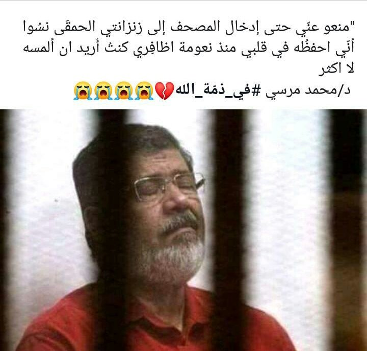 He didn't die They killed him  Rest in peace Sir  #محمد_مرسي<br>http://pic.twitter.com/O5ZFmCjkik