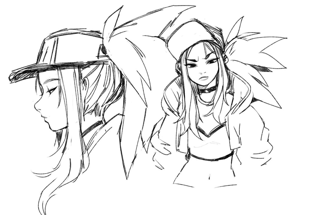 I'd like to do a KDA print but not until I perfect how i draw akali... #KDA #akali<br>http://pic.twitter.com/NruORptHML