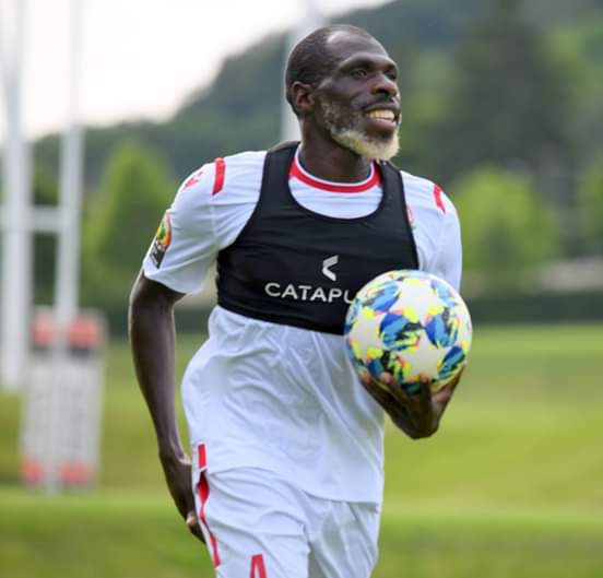 Meet the 25yr old Kenyan international, Joash Onyango 🐃#AFCON2019 #أمم_أفريقيا #CAN2019