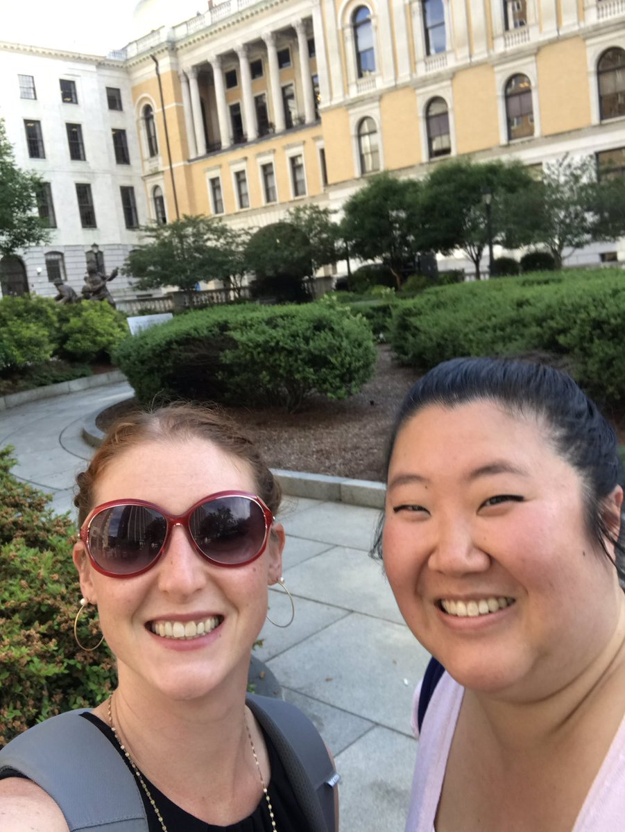 Proud to stand with @PPAdvocacyMA, @ACLU_Mass, & @ProChoiceMass, and my friend & colleague @Scarlet_is_red for #WomensHealth at the MA state house!  #WomensRightsAreHumanRights <br>http://pic.twitter.com/g4xBkx3SnX