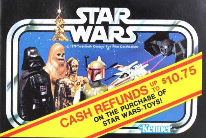 #STARWARS Cash Refund Catalog Booklet  #KENNER  1979