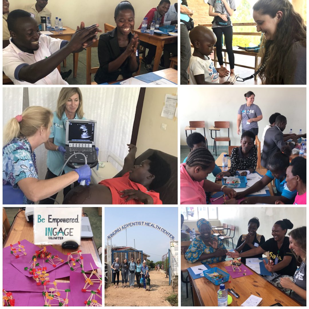 Day two for the Kivu Crew included entrepreneur workshops and volunteering at a health clinic. So much love in this community!!! <br>http://pic.twitter.com/QYDg2xoq5W
