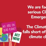 Image for the Tweet beginning: The Government #ClimatePlan19 falls short