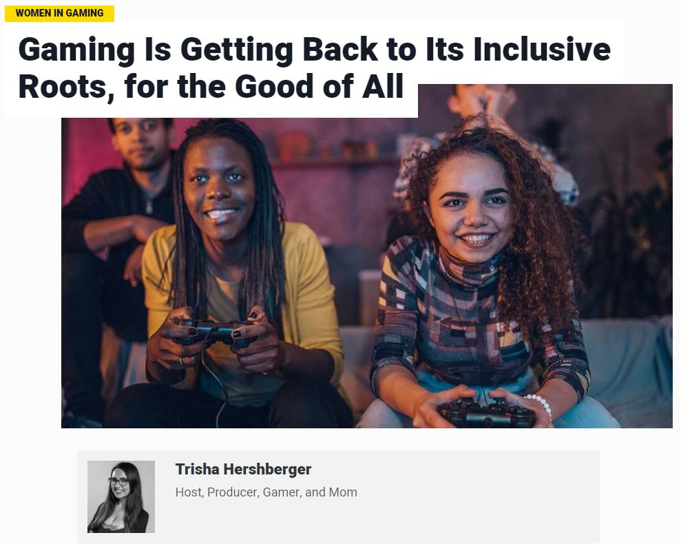 We're proud to support the @MediaplanetUSA Women in Gaming campaign! Huge kudos & thanks to our very own @thatgrltrish who contributed a personal piece about her passion for gaming and its return to its inclusive roots.   Read it ► https://newegg.io/29dea86