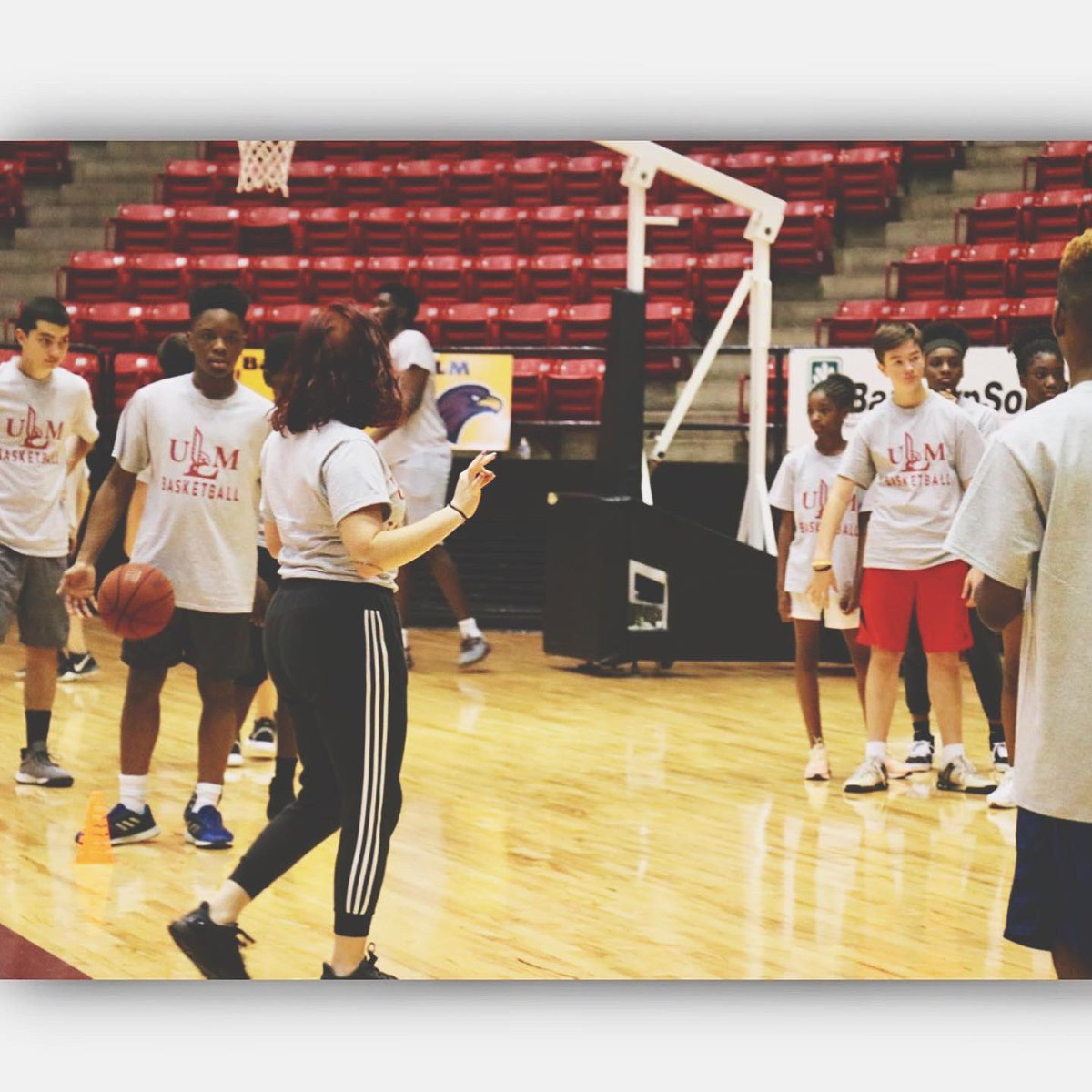 Kids camp was . Hope to see you at the next one! #ULMMBB #TakeFlight <br>http://pic.twitter.com/6r2waNV8J1