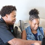 Image for the Tweet beginning: While incarcerated, this father learned