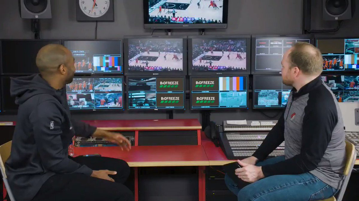 """""""Blazers don't come away with this W if not for @bosnianbeast27.""""   @L_Hurd & @CHold break down Nurk's historic 5X5 game on New Years Day vs the Kings in """"What's the Secret"""" presented by @biofreeze."""