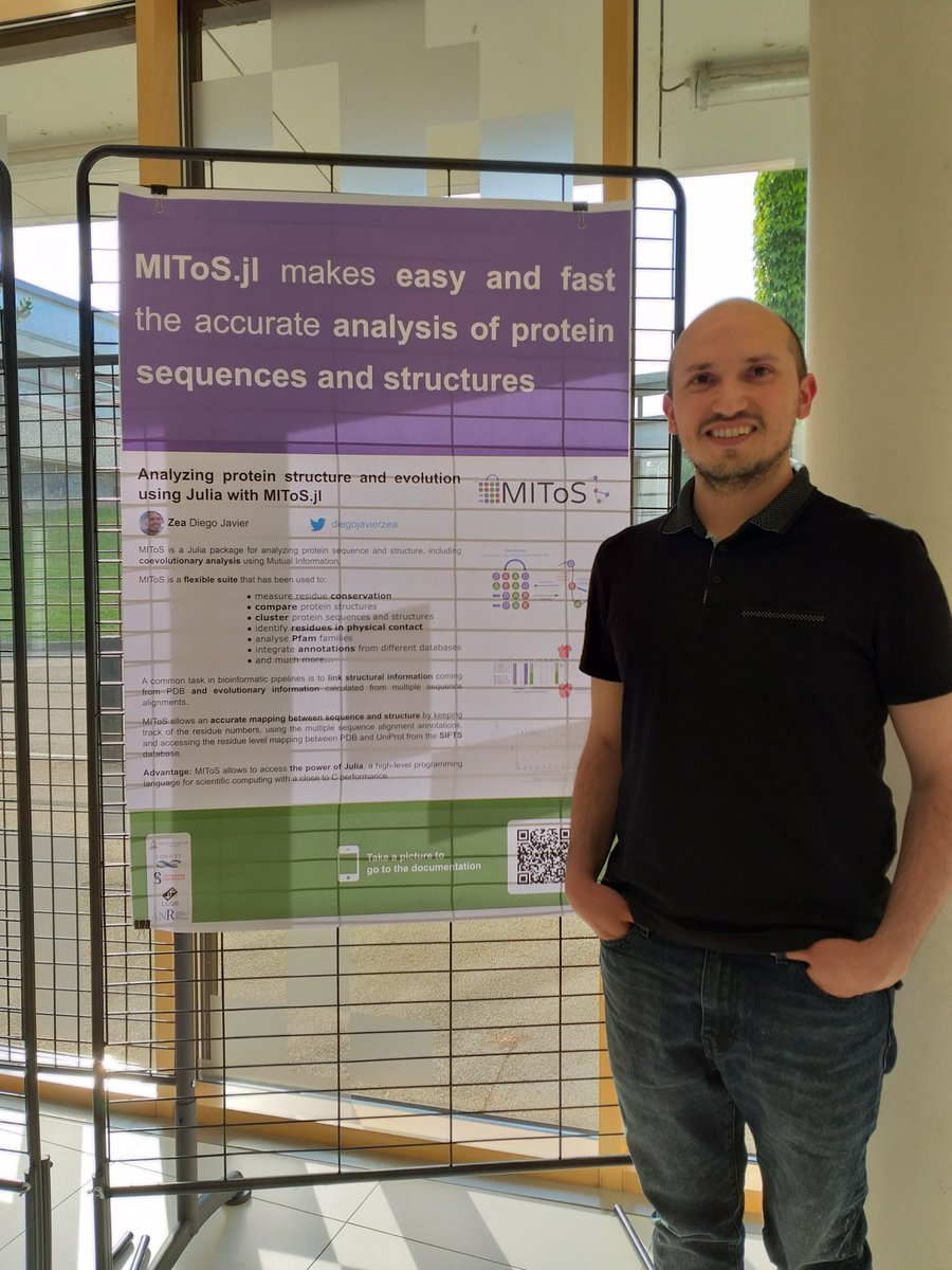 My first try with @mikemorrison's #betterposter template at the #JuliaLang day in Nantes <br>http://pic.twitter.com/IhMMLHyTzD