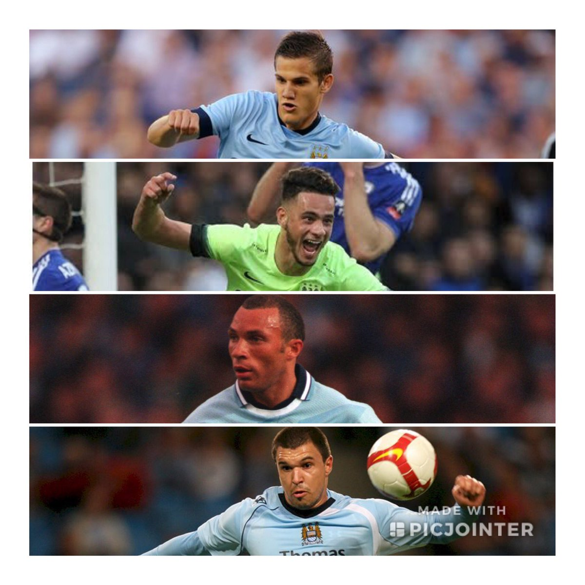 City picture quiz!   Name these 4 ex City players.