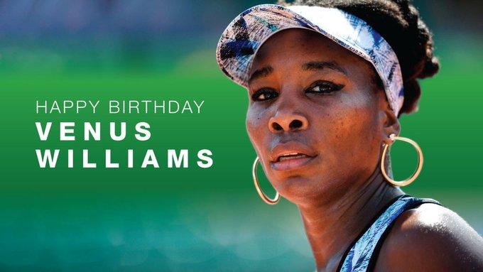 Happy 39th Birthday, Venus Williams! |