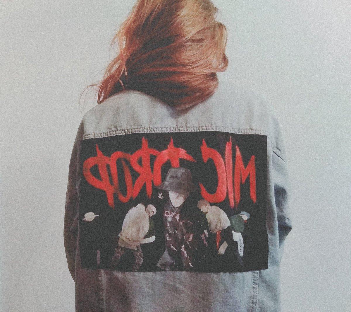 mic drop hand painted jacket @BTS_twt #btsfanart i tried  <br>http://pic.twitter.com/cniZX3DpZd