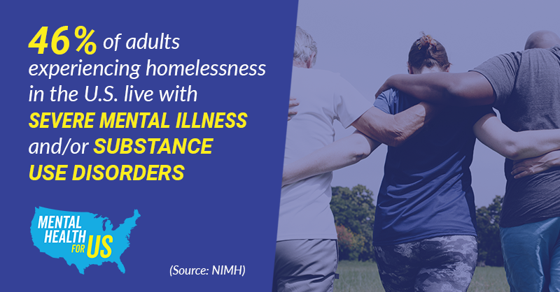 People experiencing homelessness deserve better care. People living with severe mental illness deserve better care. People living with substance use disorder deserve better care.  Stand with us: https://bit.ly/2ZrdA2E #MentalHealthForUS