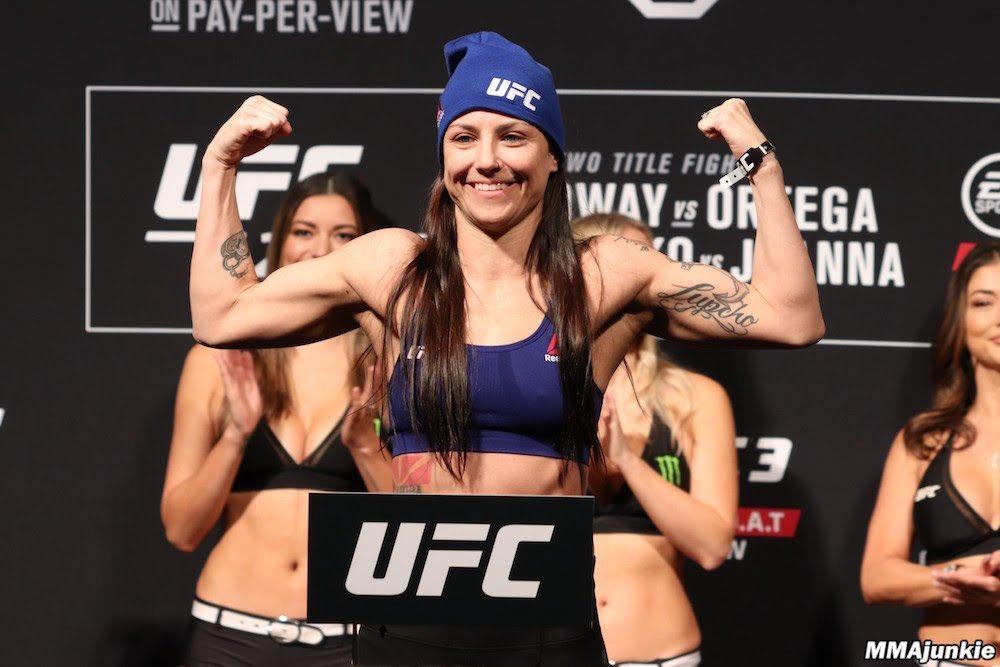 @AlexaGrasso 🆚 @NinaAnsaroff will be a great fight! Hope this fight happens #UFC242 #UFC240 #UFC241 #helwanishow @seanshelby @ufc