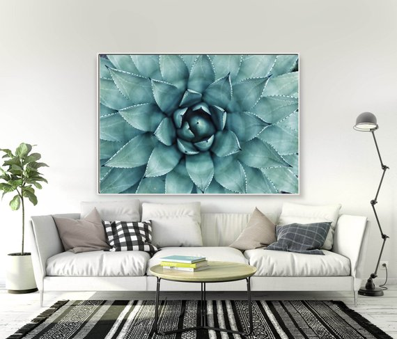 If you can't keep plants alive, then this succulent print is for you! http://dld.bz/hpUR5  #succulents #plants #botanical wallart